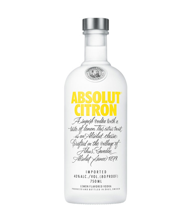 Absolut Citron vodka has provided a kick of lemon flavor and a smooth finish to your favorite cocktail recipes for nearly 30 years. Experience a delightful splash of citrus with the perfect balance between tangy lemon and vibrant lime notes achieved in Absolut Citron.