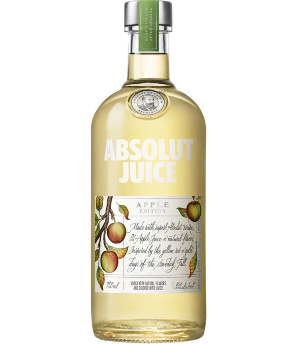 Sweden- Made with Absolut vodka, fruit juice, and natural flavors. Smooth with a well-balanced sweetness followed by soft floral notes and vanilla. Less than 99 calories per serving and no artificial flavors.